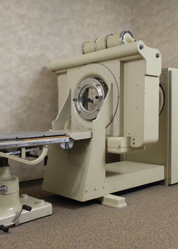 1973. First CT scanner