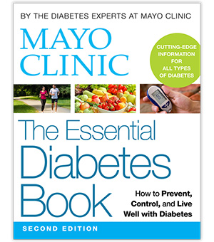 Mayo Clinic The Essential Diabetes Book, Second Edition cover