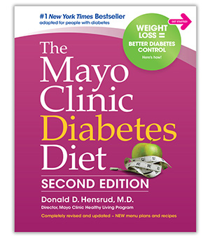 The Mayo Clinic Diabetes Diet, Second Edition book cover