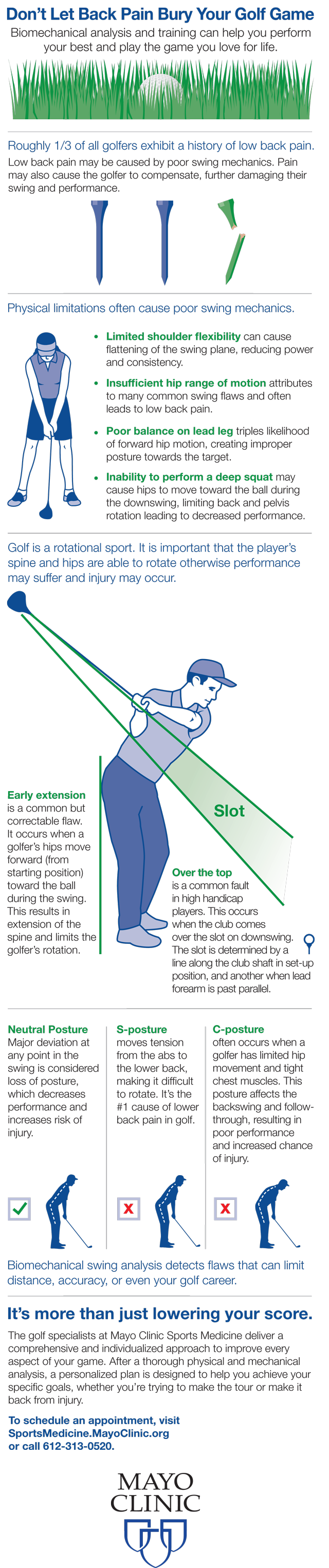 Don't Let Back Pain Bury Your Golf Game