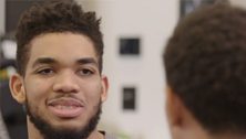 Mentor Moment with Karl-Anthony Towns
